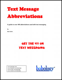 Text Messaging Abbreviations (Print Edition)