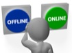 What do Online and Offline Mean?