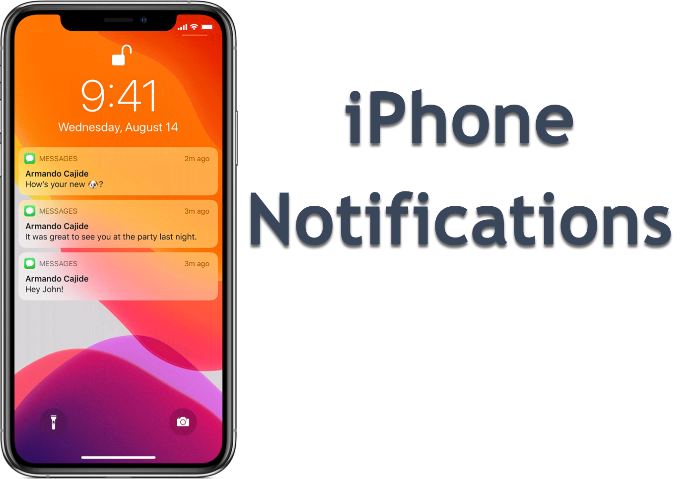 Message how on notification change iphone to How to