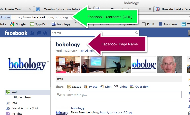 Creating and Changing a Facebook Page Name and Username